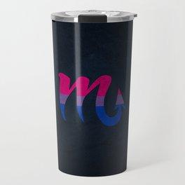 Bisexual Pride Flag Scorpio Zodiac Sign Travel Mug