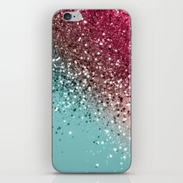Tropical Watermelon Glitter #1 #decor #art #society6 iPhone Skin