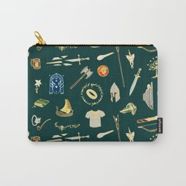 Lord of the pattern green Carry-All Pouch