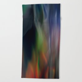 Heavenly lights in water of Life-5 Beach Towel
