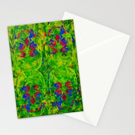 4X4 Skull camouflage Stationery Cards