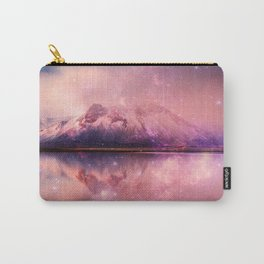 Reflections of Time - mountains and lakes Carry-All Pouch