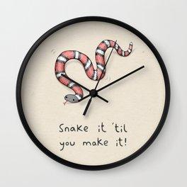 Snake It Wall Clock