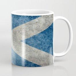 Scottish Flag - Vintage Retro Style Coffee Mug