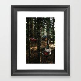 Hammocking Framed Art Print