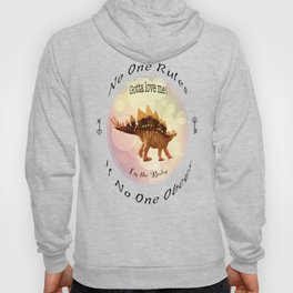 No One Rules If No One Obeys Hoody