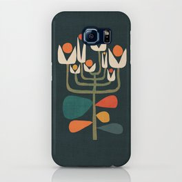 Retro botany iPhone Case