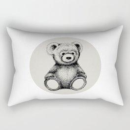 Teddy Bear Rectangular Pillow