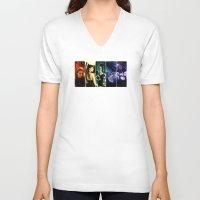 pride V-neck T-shirts featuring Pride by Danielle Tanimura