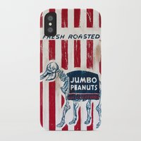 peanuts iPhone & iPod Cases featuring Jumbo Peanuts by Carl Floyd Medley III