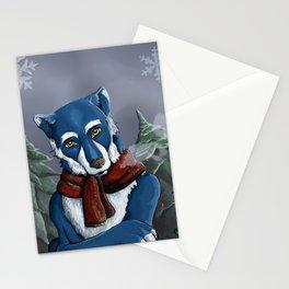 Winterwolf Stationery Cards