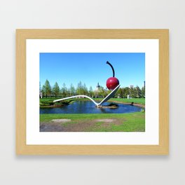 Spoonbridge and Cherry Framed Art Print