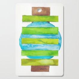 180818 Geometrical Watercolour 5 Cutting Board