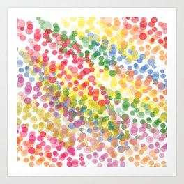 Gotas de Felicidad Art Print