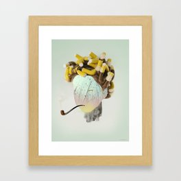 Faces 2/5 - Paradise Framed Art Print