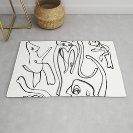 Loopy People Rug