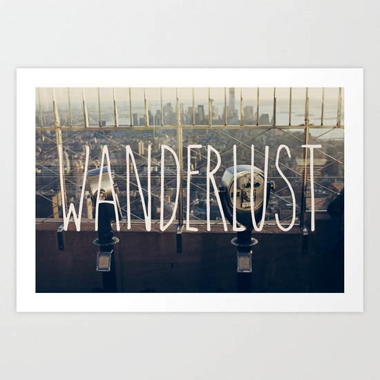 Wanderlust - NYC Art Print