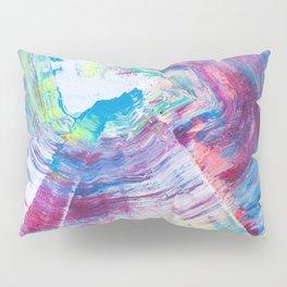 Neon Wave Pillow Sham