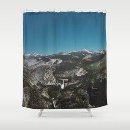 Glacier Point, Yosemite National Park IV Shower Curtain