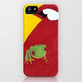 Frog Licker iPhone Case