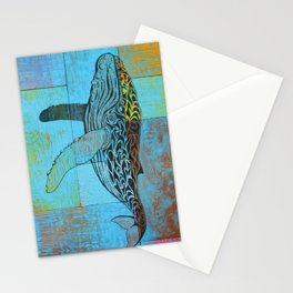 Humpback Whale  Stationery Cards