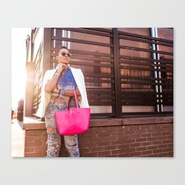Meatpacking and Fashion Canvas Print