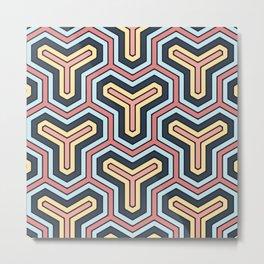 Abstract V Metal Print