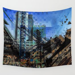 Montreal urbania Wall Tapestry