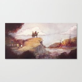 Eighteen-twelve - Niagara Canvas Print