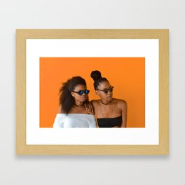Melanin Queens Framed Art Print