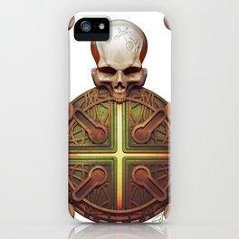 Death's Mandala001 iPhone Case