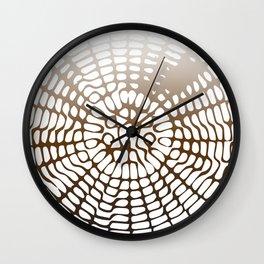 Earth Cymatics Wall Clock