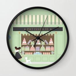 Patisserie Wall Clock