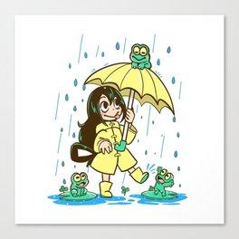 Best Frog Girl - Tsuyu Asui Canvas Print