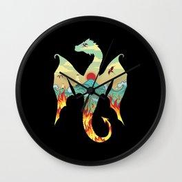 Dragons Wall Clock