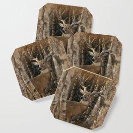 Deer - Birchwood Buck Coaster