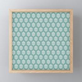 Hekse | Teal Framed Mini Art Print