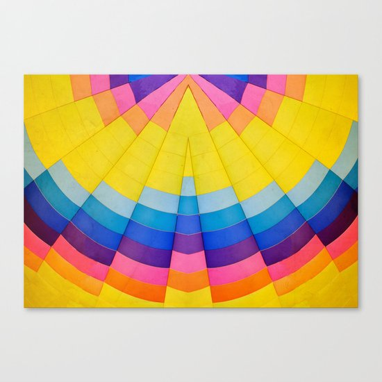Radial Canvas Print
