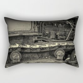Tracks of the Warped Earth Mover Rectangular Pillow