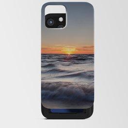 Lake Michigan Sunset iPhone Card Case