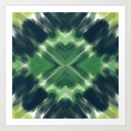 Forest Explosion Art Print