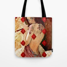 Lucky Number 9 Tote Bag