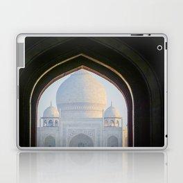First View of Taj Mahal through the Morning Mist Laptop & iPad Skin