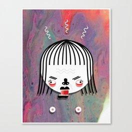 LOVE / WAR 3 Canvas Print