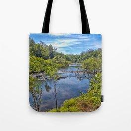 Idyllic River View Tote Bag