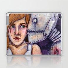 Robot Kiss Laptop & iPad Skin