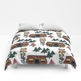 Camping we go Comforters