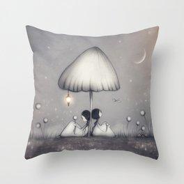 Little Talks At Twilight Throw Pillow