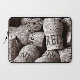 Cork of Champagne - Brown Duplex Laptop Sleeve