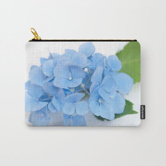 Blue Hydrangeas #1 #decor #art #society6 Carry-All Pouch
